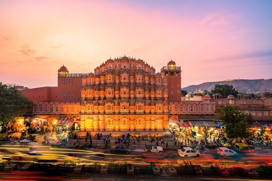 The Famous Pin Buildings of Jaipur