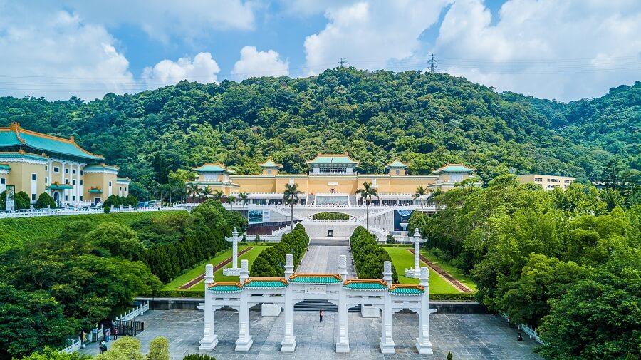 The Taiwan National Palace Museum