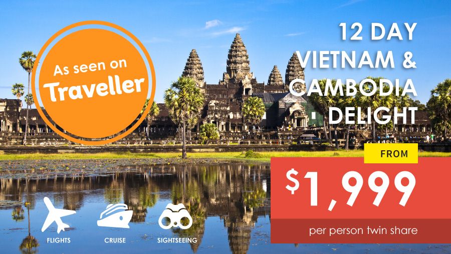 12 Day Vietnam Cambodia Delight Tour from $1999 by Asia Vacation Grooup