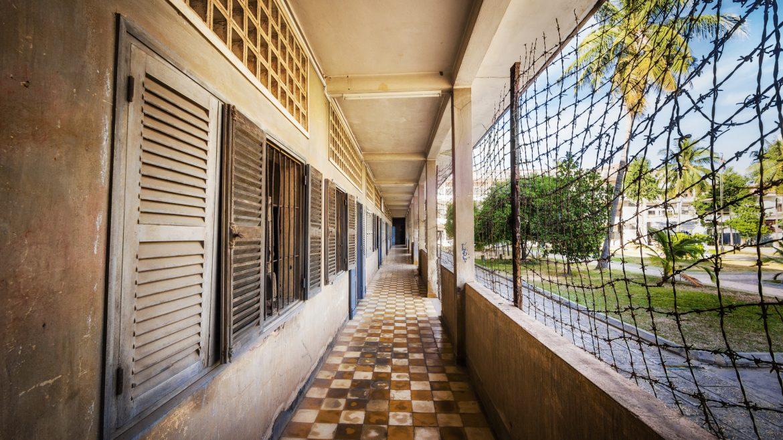 S21 prison in Phnom Penh, Cambodia