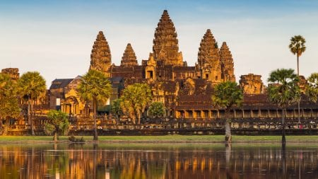 Angkor Wat Siem Reap is included in Cambodia tours offered by Asia Vacation Group.