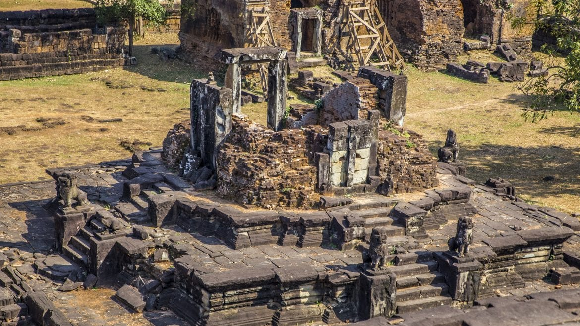 Bakong_Temple-Siem_Reap is included in Cambodia tours offered by Asia Vacation Group.