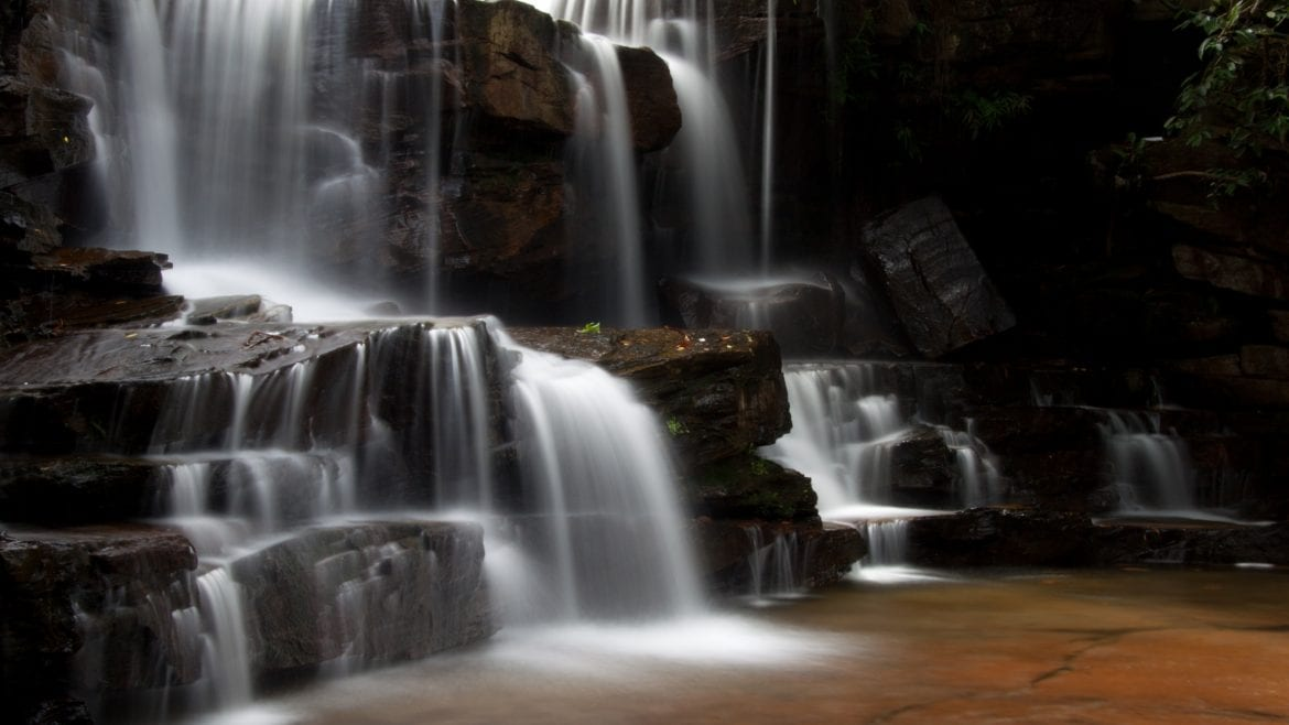 Kbal Chhay Waterfall, Sihanoukville, Cambodia is included in Cambodia tours offered by Asia Vacation Group
