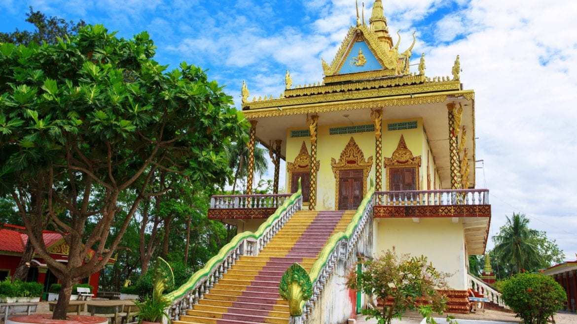 Wat Leu Temple - Cambodia is included in Cambodia tours offered by Asia Vacation Group.