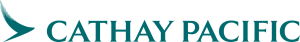 Logo of Cathay Pacific airline, trusted partner with Asia Vacation Group