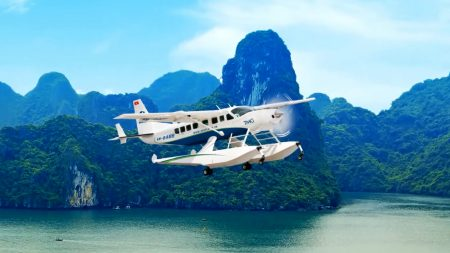 Generic Seaplane on sky, included in a tour, offered by Asia Vacation Group