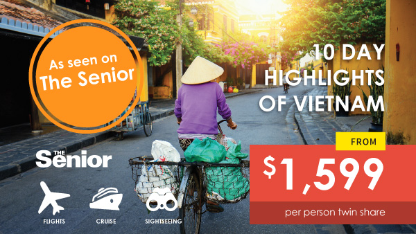 10 Day Highlights of Vietnam as featured on the Senior, offered by Asia Vacation Group