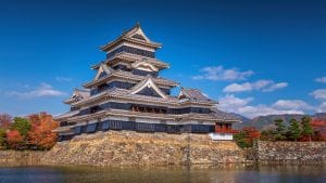 MJatsumoto castle in Nagano, Japan, included in tours offered by Asia Vacation Group