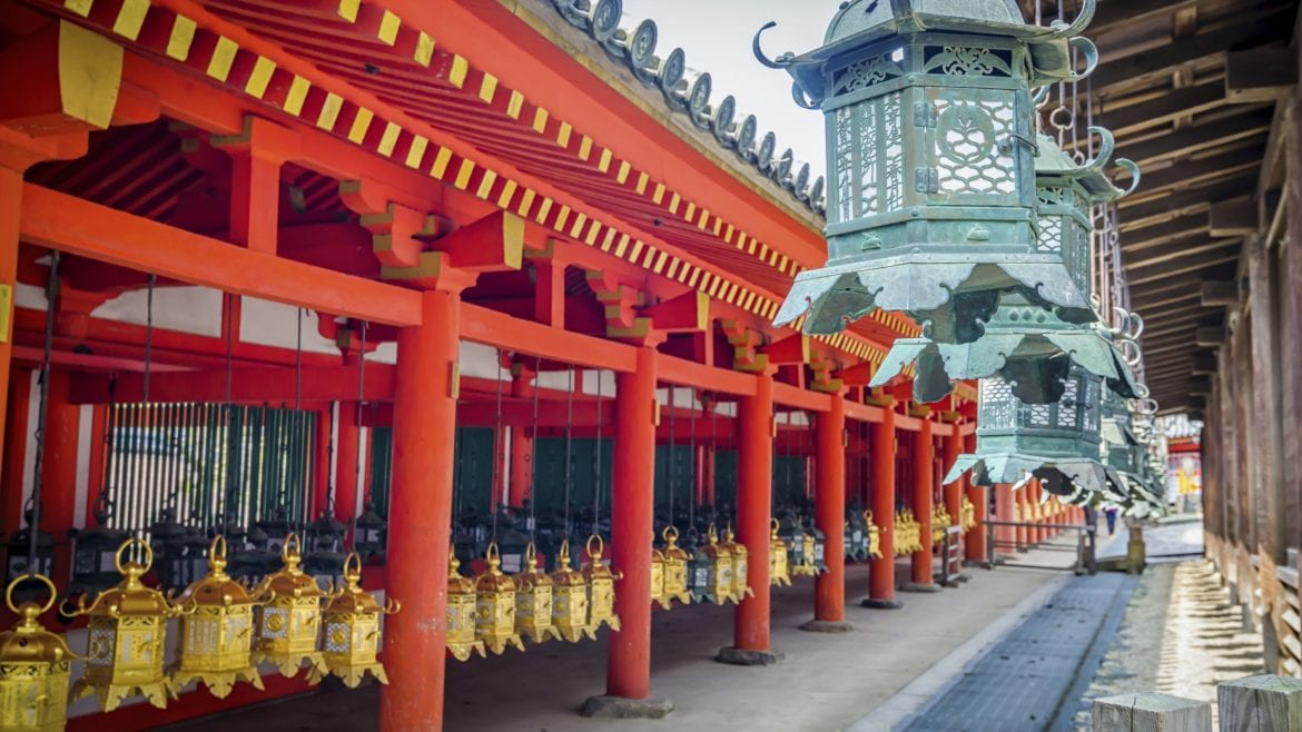 Kasuga Taisha, Nara is included in Japan tours offered by Asia Vacation Group.
