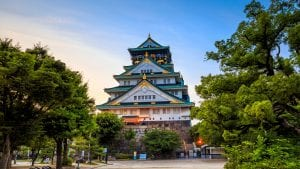 Osaka Casle is included in Japan tours offered by Asia Vacation Group.