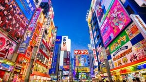 Akihabara, Tokyo is included in Japan tours offered by Asia Vacation Group.