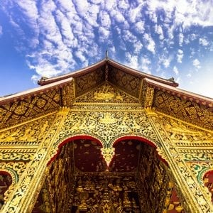 Haw Pha Bang Temple is included in Laos tours offered by Asia Vacation Group.