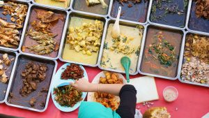 Home cooked dishses, included in tours offered by Asia Vacation Group