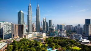 Skyline Aerial View in Kuala Lumpur, included in tours offered by Asia Vacation Group