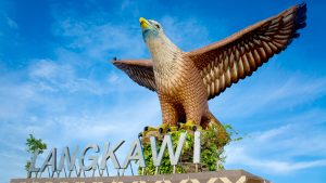 Eagle Statue At Eagle Square in Langkawi, included in tours offered by Asia Vacation Group