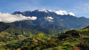 Mt Kinabalu Villages foothill, included in tours offered by Asia Vacation Group