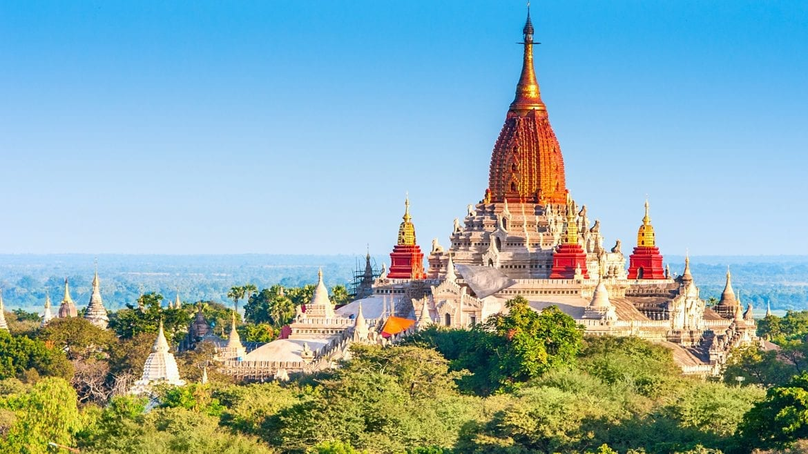 Ananda Temple is included in Myanmar tours offered by Asia Vacation Group.