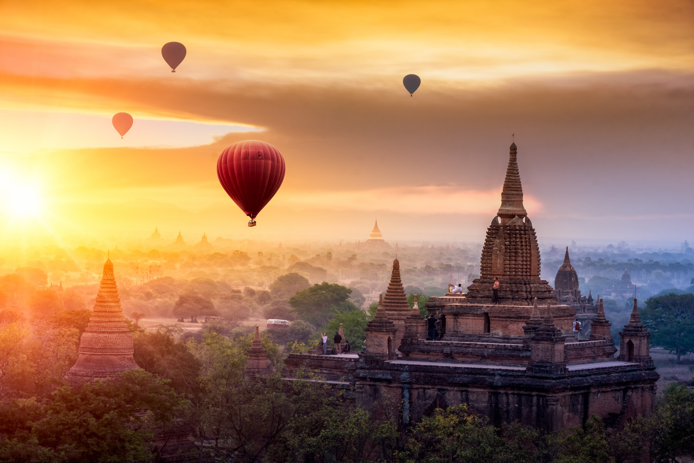 Balloons Over Bagan Classic Tour | Asia Vacation Group