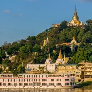 Sagaing River Cruise is included in Myanmar tours, offered by Asia Vacation Group.