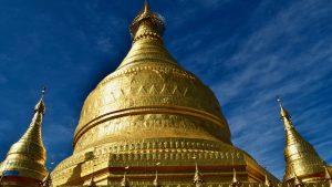 Tant Kyi Taung Pagoda in Pakokku, Myanmar