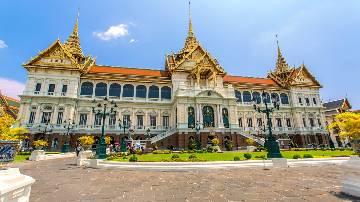 Grand Palace Angled View, Bangkok, Thailand, included in tours offered by Asia Vacation Group