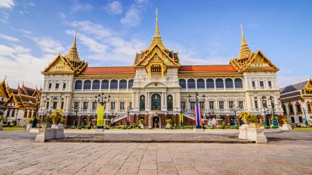 Grand Palace Outside View, Bangkok, Thailand, included in tours offered by Asia Vacation Group