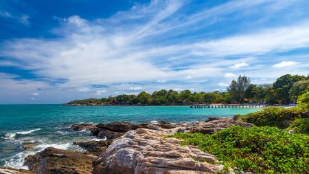 Shoreline at Koh Samet Island, Thailand
