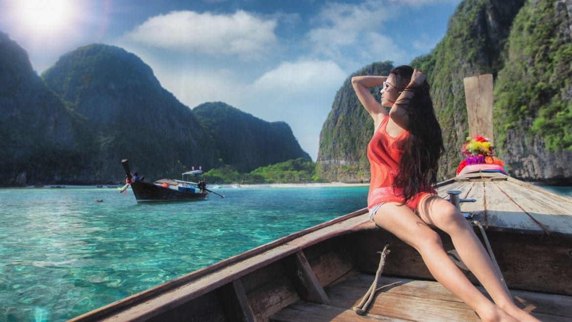 PhiPhi island, included in tours offered by Asia Vacation Group