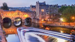 Pulteney Bridge in Bath, United Kingdom