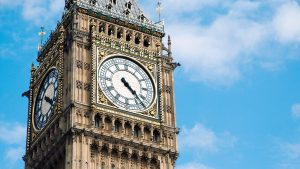 Big Ben Tower in London, United Kingdom