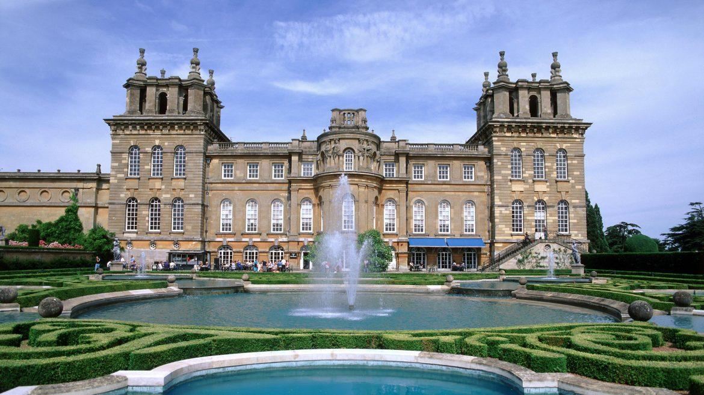 Blenheim Palace in Oxford, United Kingdom