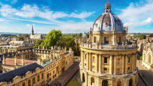 Oxford University in Oxford, United Kingdom