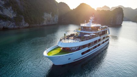 Stellar Cruise Ship in Halong, a trusted partner of Asia Vacation Group