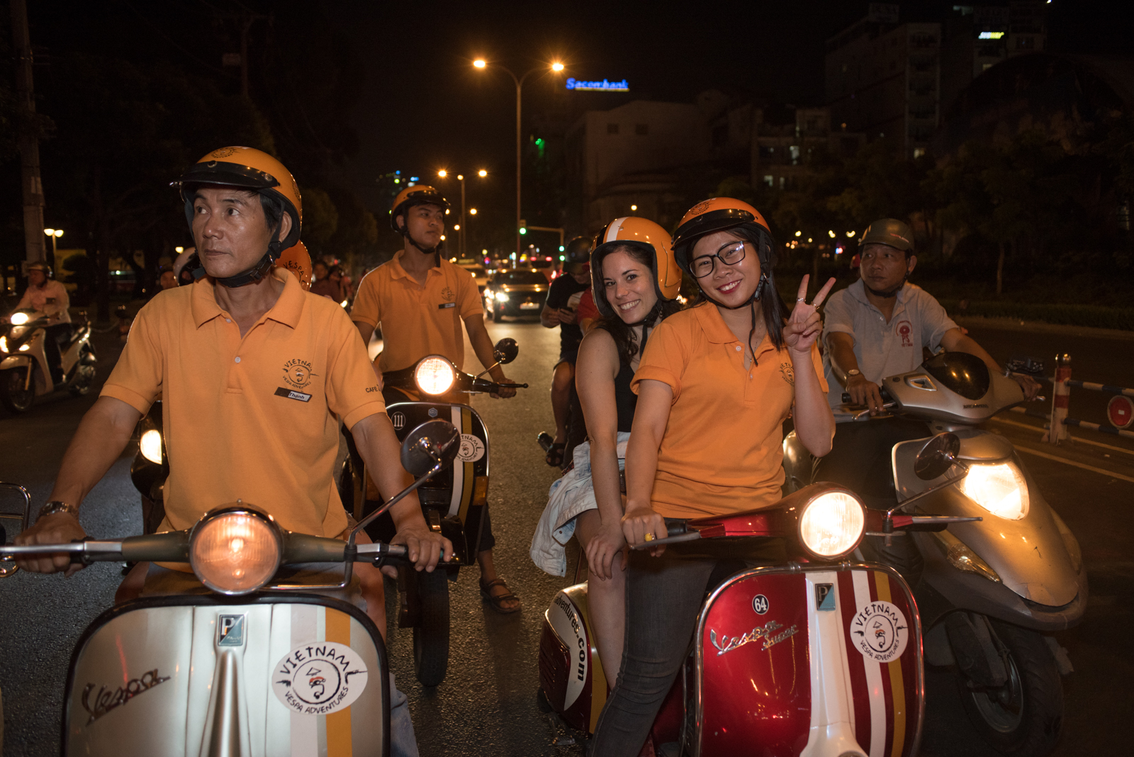 Vespa Adventure Saigon After Dark | Asia Vacation Group