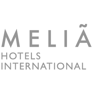 Logo of Melia Hotels, a trusted partner of Asia Vacation Group