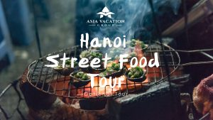 Video poster for intro video of Hanoi Street Food Tour