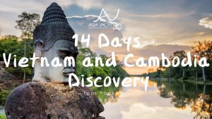 Video poster for intro video of 14 Day Vietnam and Cambodia Discovery Tour