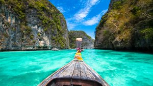 Ha Long Boat head, included in tours offered with Asia Vacation Group