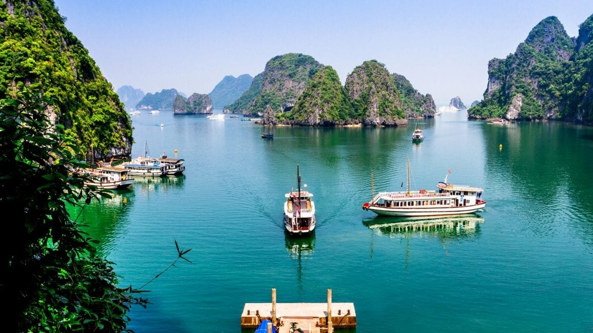 Ha Long Bay, Vietnam, included in tours offered with Asia Vacation Group