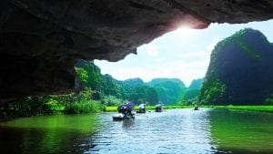 Ha Long Bay cave, included in tours offered with Asia Vacation Group