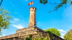 Hanoi Flag Tower, included in tours offered with Asia Vacation Group