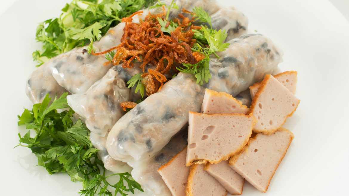 Hanoi Food Stuffed pancake, included in tours offered by Asia Vacation Group
