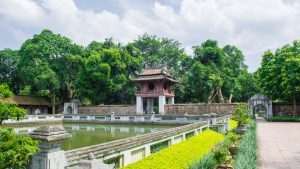 The Temple of Literature, Hanoi, included in tours offered by Asia Vacation Group