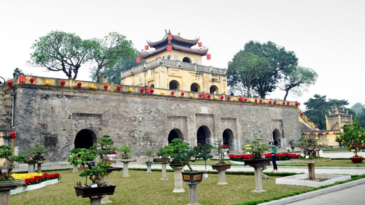 Hanoi Thang Long citadel, included in tours offered by Asia Vacation Group