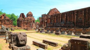 Hoi an My son sanctuary inside, included in tours offered by Asia Vacation Group