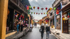 Hoian Hoian Ancient town, included in tours offered by Asia Vacation Group