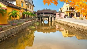 Hoian Japanese Covered Bridge, included in tours offered by Asia Vacation Group