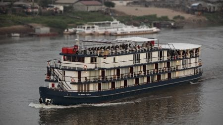 Jayavarman Cruise on Mekong River, Vietnam, included in tours offered by Asia Vacation Group