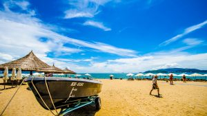 Beach view in Nha Trang, included in Tours offered by Asia Vaacation Group
