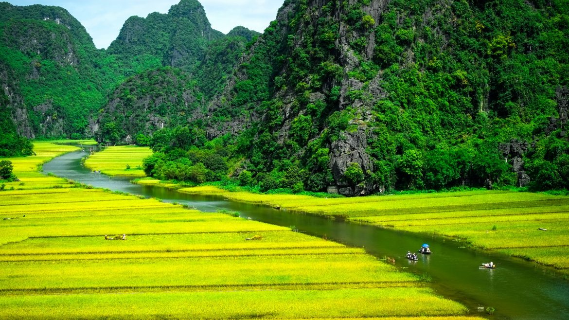 Ninh Binh, Vietnam, included in tours offered by Asia Vacation Group